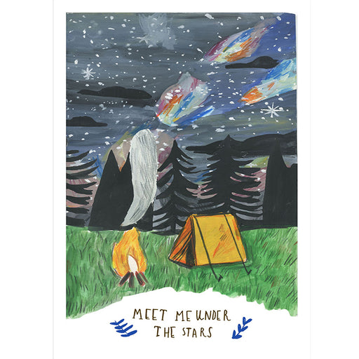 Meet Me under the Stars Art Print