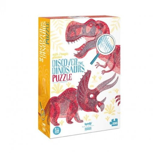 Discover Dinosaurs Childrens 200 Piece Jigsaw Puzzle