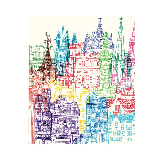 Edinburgh Towers print