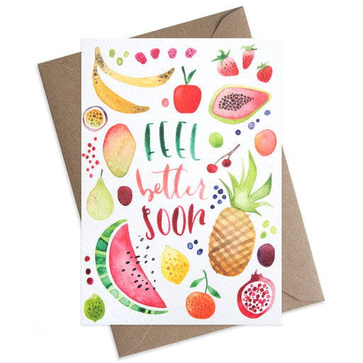 Fresh Fruit Feel Better Soon Card