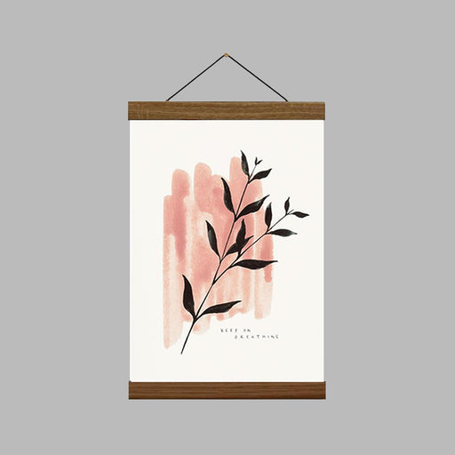 A4 Keep On Breathing Art Print