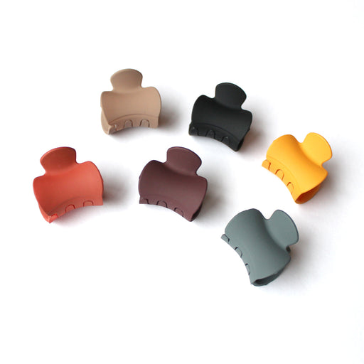 Solid Colour Small Hair Clips