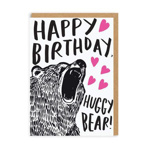 Huggy Bear Birthday Card