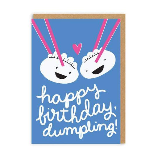 Dumpling Birthday Card
