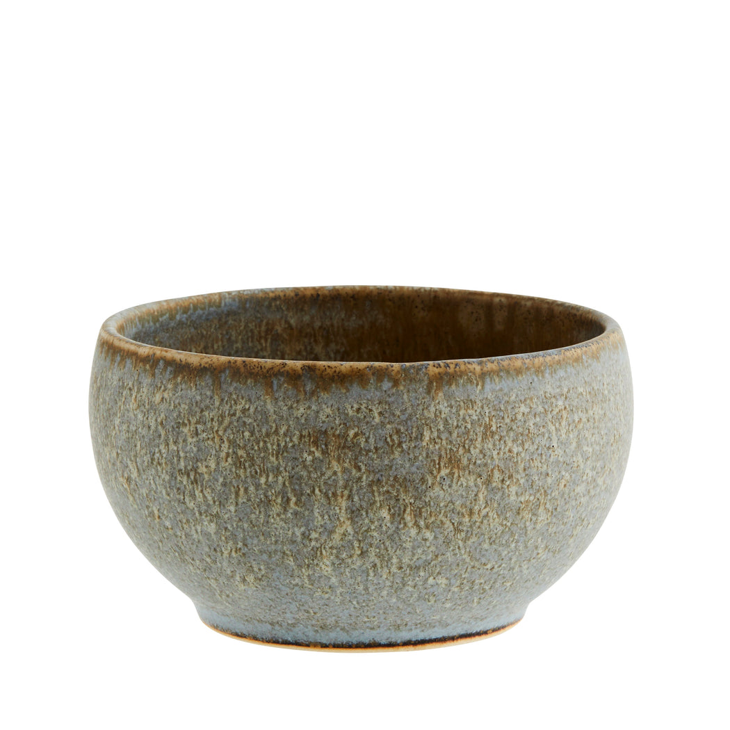 Small Grey Stoneware Bowl