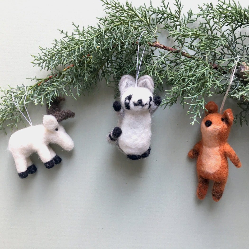 Lemur Felt Decoration