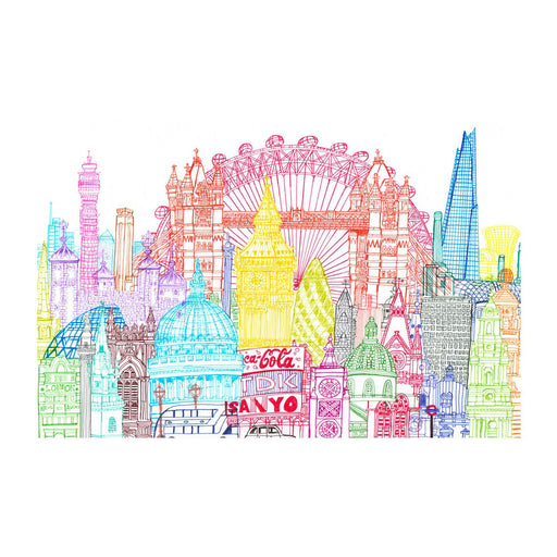 London Towers print