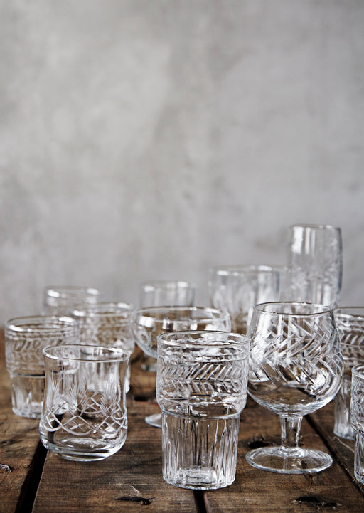 Cut Glass Drinking Glass