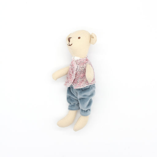 Mini Mouse Wearing Jeans Soft Toy