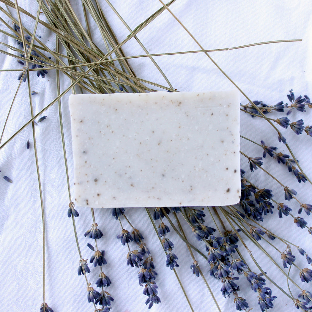 French Clay Facial Bar With Lavender & Tea Tree