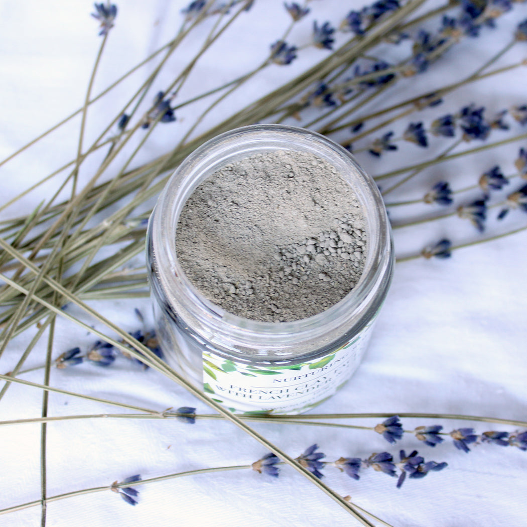 French Clay Facial Mask With Lavender & Chamomile
