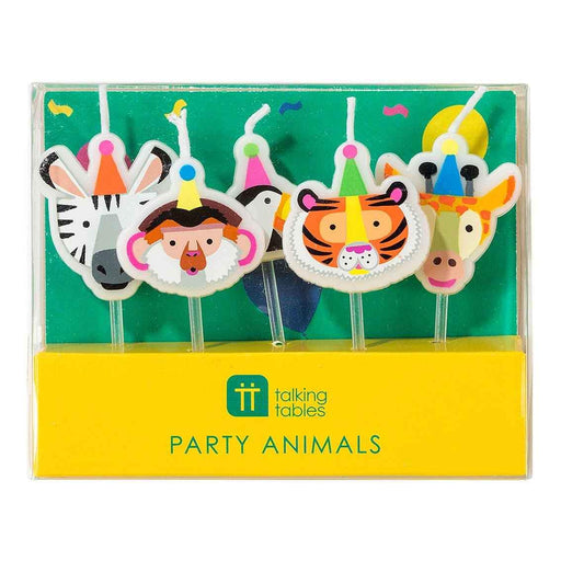 Party Animal Cake Candles