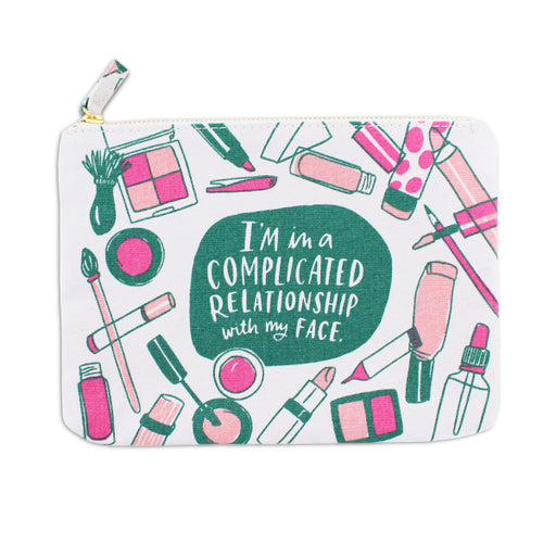 Complicated Relationship Canvas Pouch