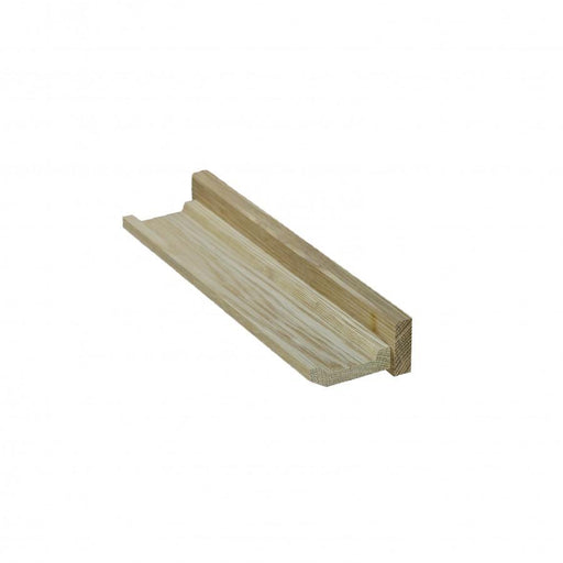 Small Solid Oak Picture Ledge