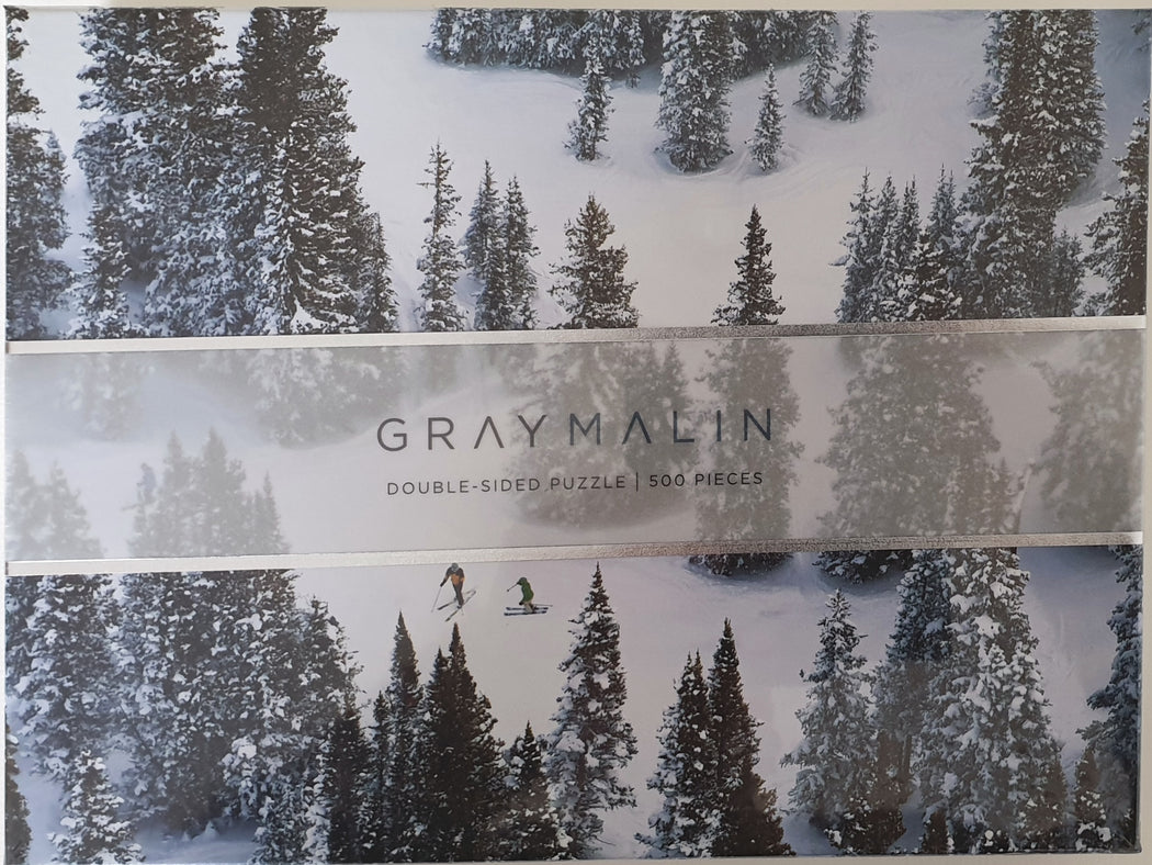 Gray Malin The Snow Two -Sided 500 Piece  Jigsaw Puzzle