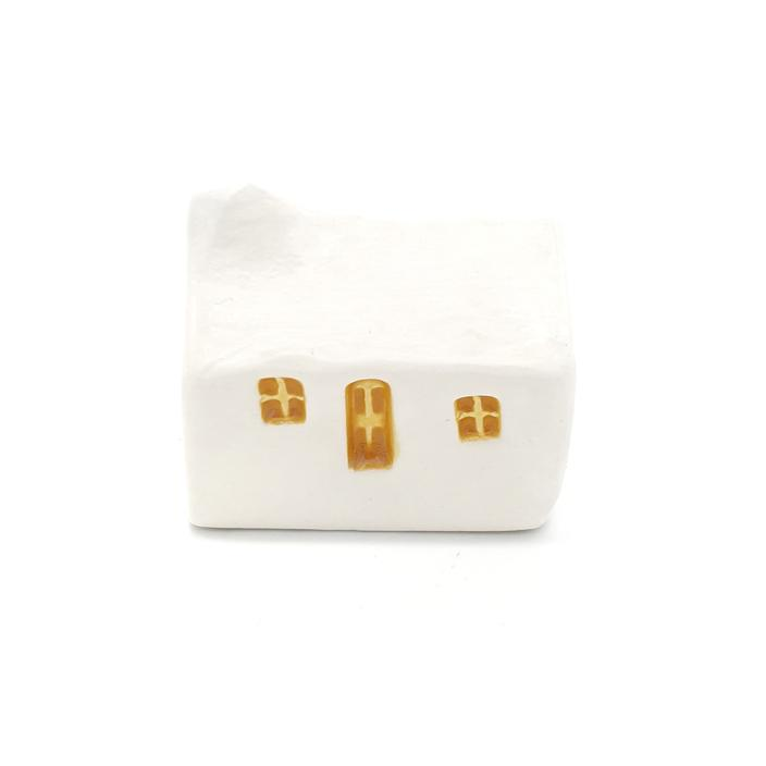 Curiouser White Ceramic Bothies