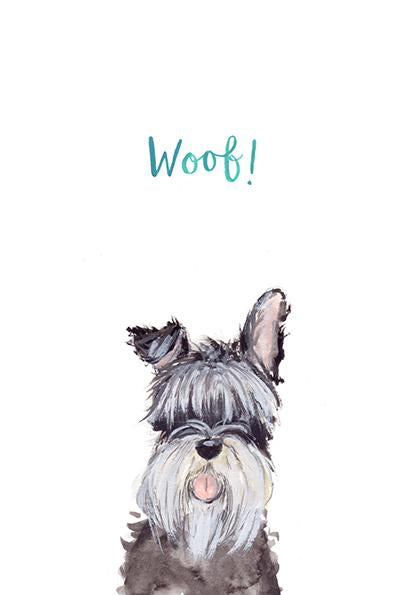 Woof print by Fiona Purves