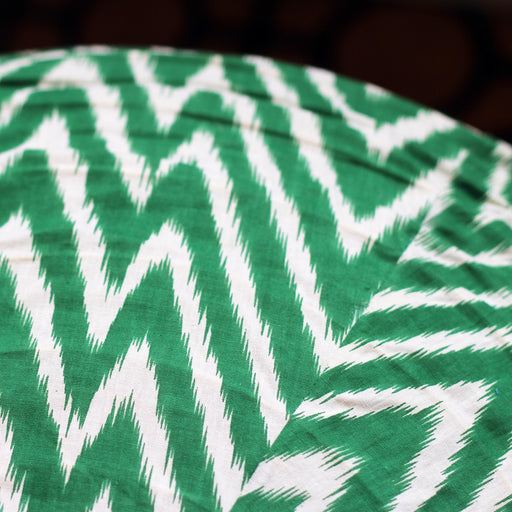 Zigzag in Green Lampshade - 60cm