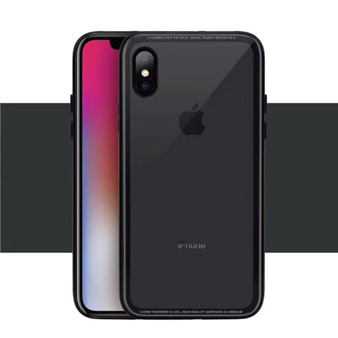 SwitchEasy iGLASS iPhone X Suojakuori - Mobile Gadgets