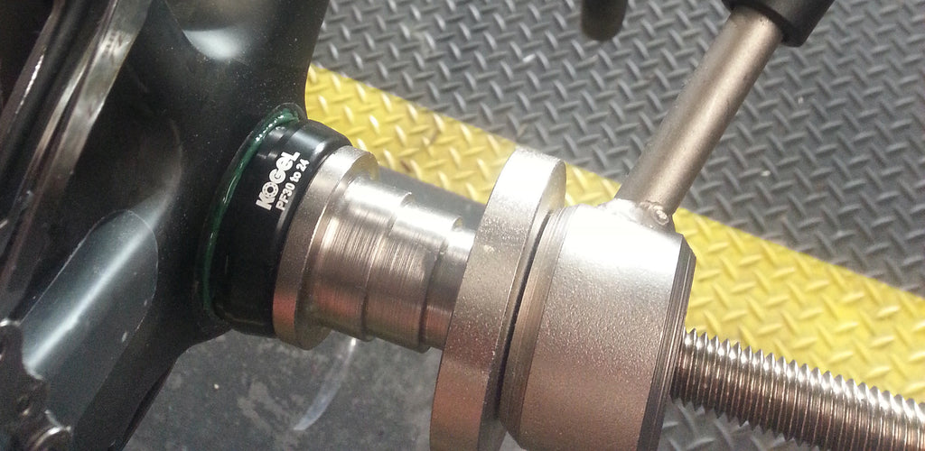 How to install PressFit bottom brackets for home mechanics