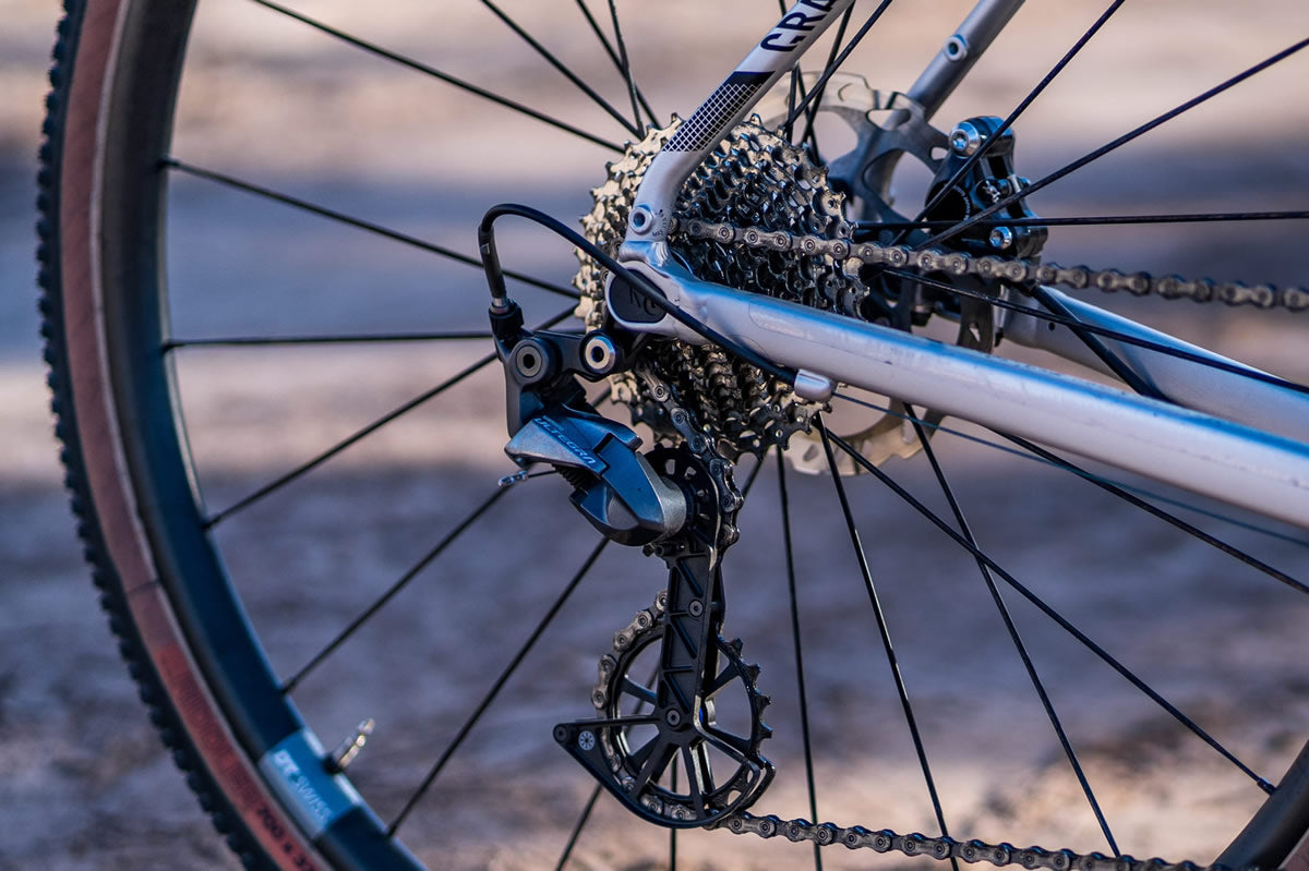 oversized derailleur cages vs oversized pulleys