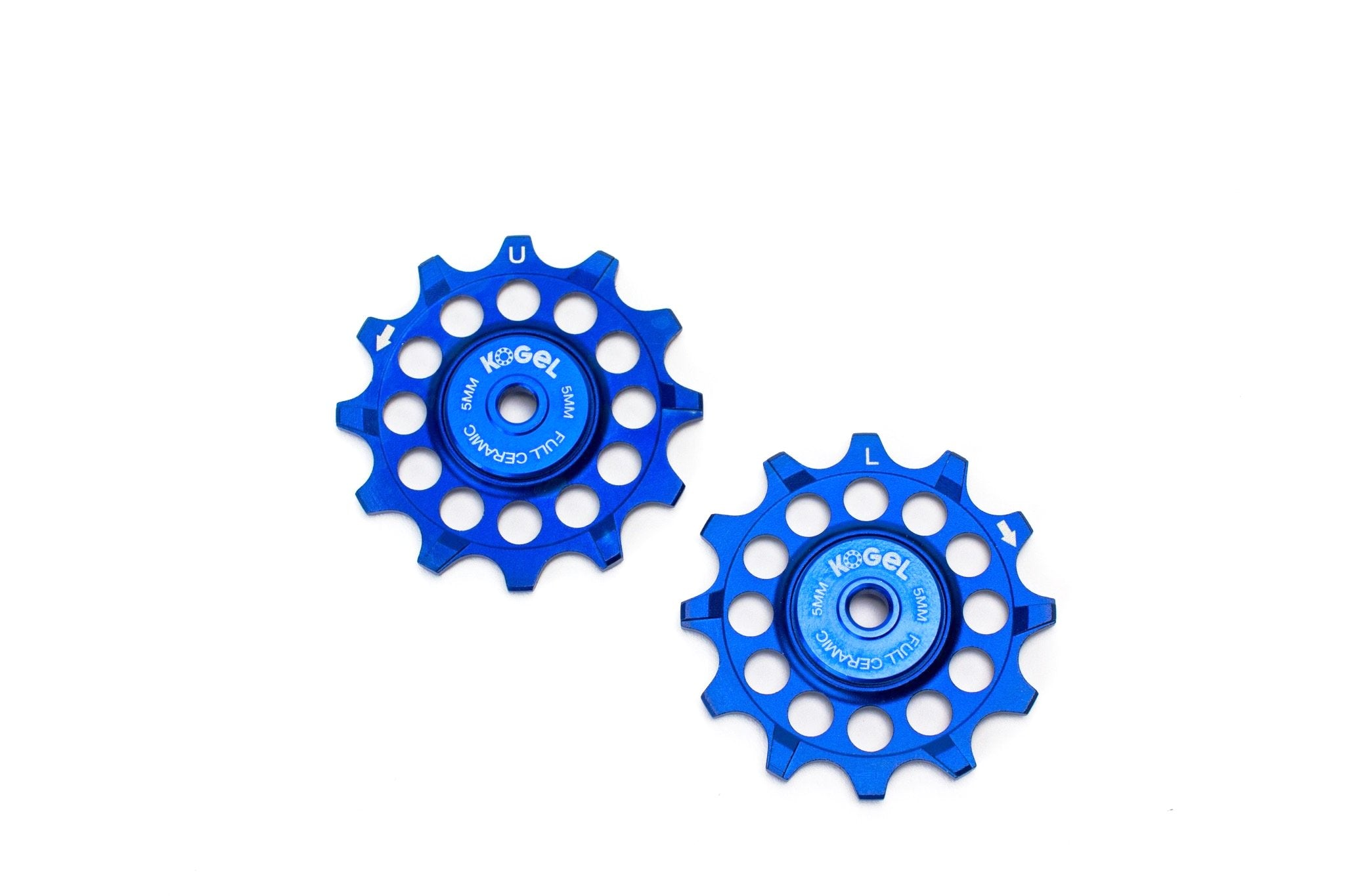 Royal Blue 12 tooth 'Not for Instagram' pulleys for Sram and Shimano ROAD