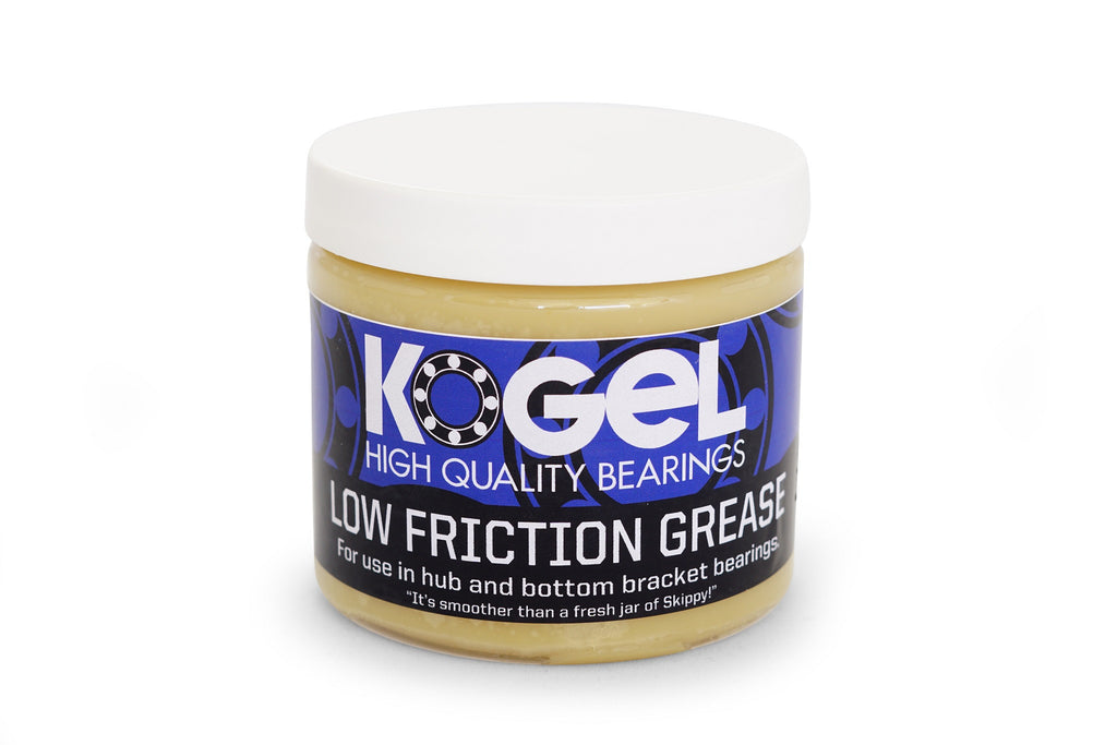 Maintenance: Low Friction bearing grease