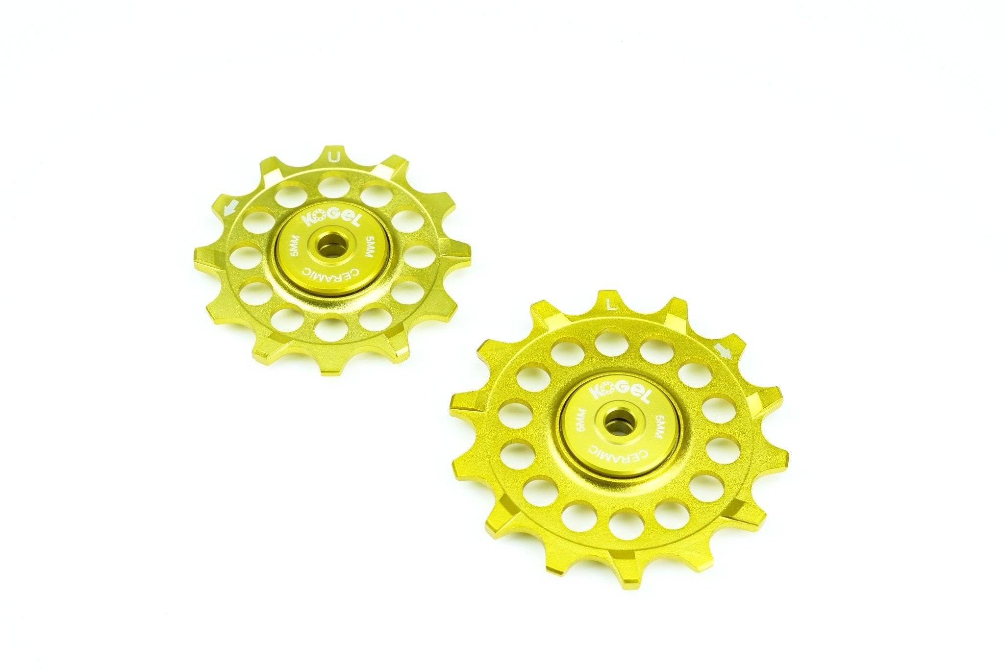 Midas Gold pulleys for Sram Eagle