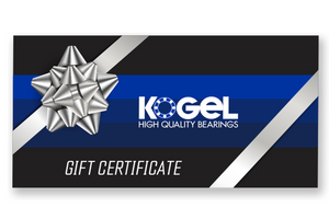 Kogel Bearings eGift Certificate - $50