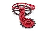 Sram Red and Force Etap AXS Oversized Derailleur Cage - Fire Engine Red