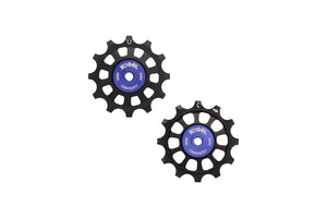 12/12T oversized derailleur pulleys for Shimano 11, Etap and Campagnolo 12 speed