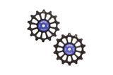 14/14T oversized derailleur pulleys for Sram Eagle and Shimano 12 speed