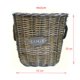 medium log basket