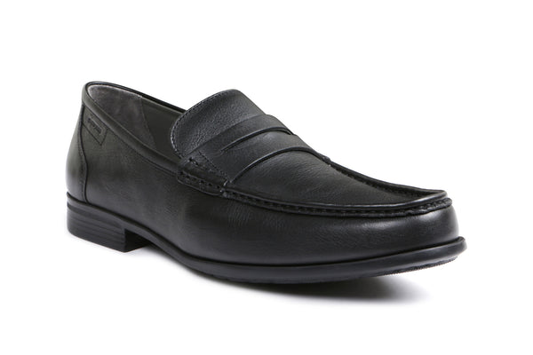 MODUL Leather - Gentlemens Sledgers Shoe in Black
