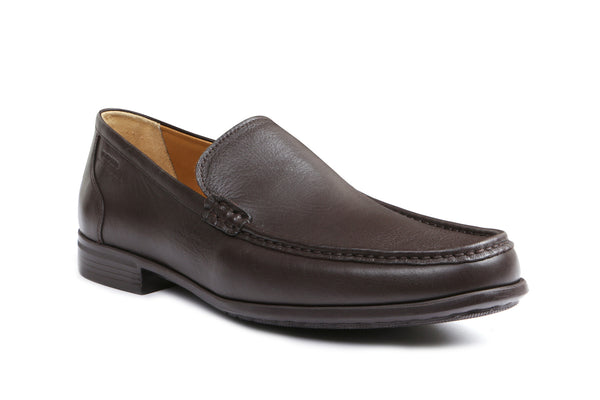 MORRIS LEATHER - Extra Light Brown Shoe