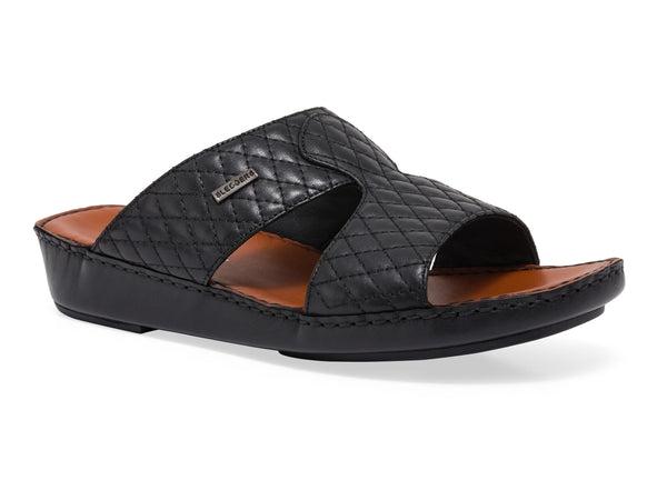 LISMORE SLIP ON LEATHER SANDALS - Sledgers