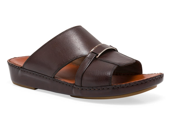 MACKAY SLIP ON LEATHER SANDALS - Sledgers