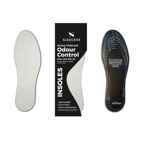 Sledgers Odour Control Active Charcoal Insoles