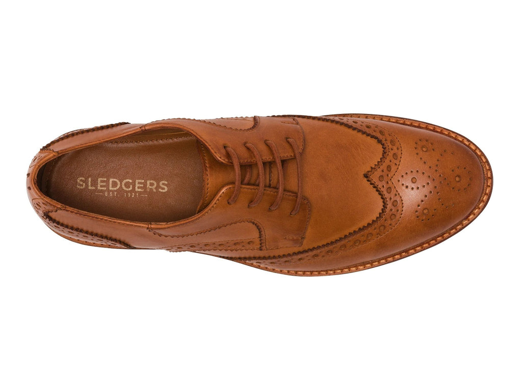 AMIENS: Men's Handmade Leather Shoe - Sledgers