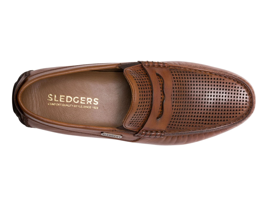 ANCHORAGE: Men's Handmade Leather Driving Shoes - Sledgers