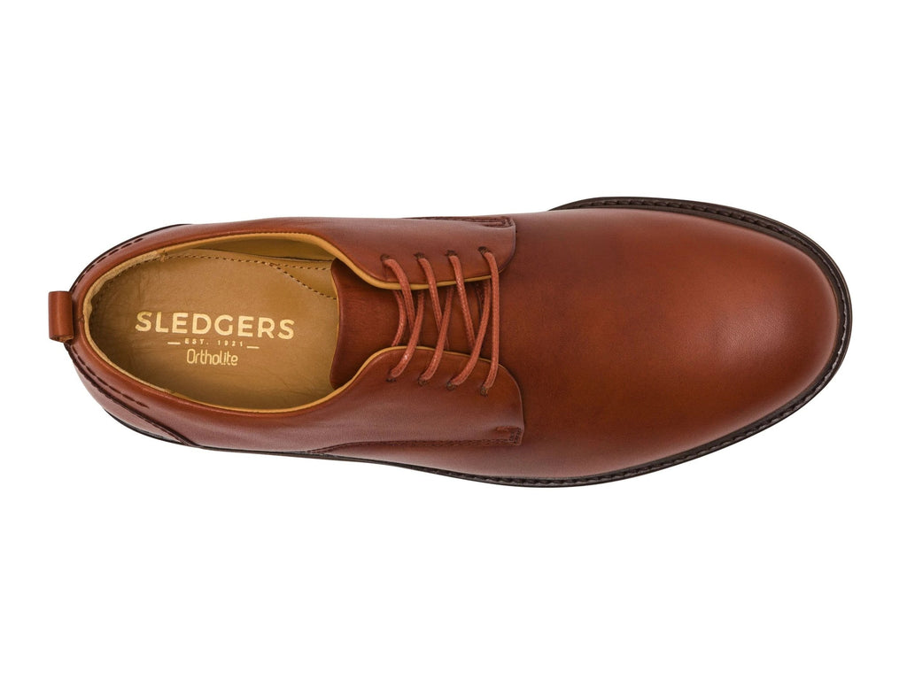 ANNECY: Men's Handmade Leather Shoes - Sledgers