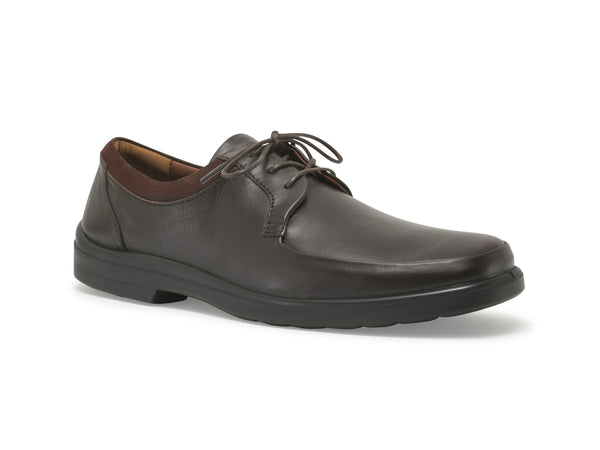 BENTLEY LEATHER SHOES - BROWN - Sledgers