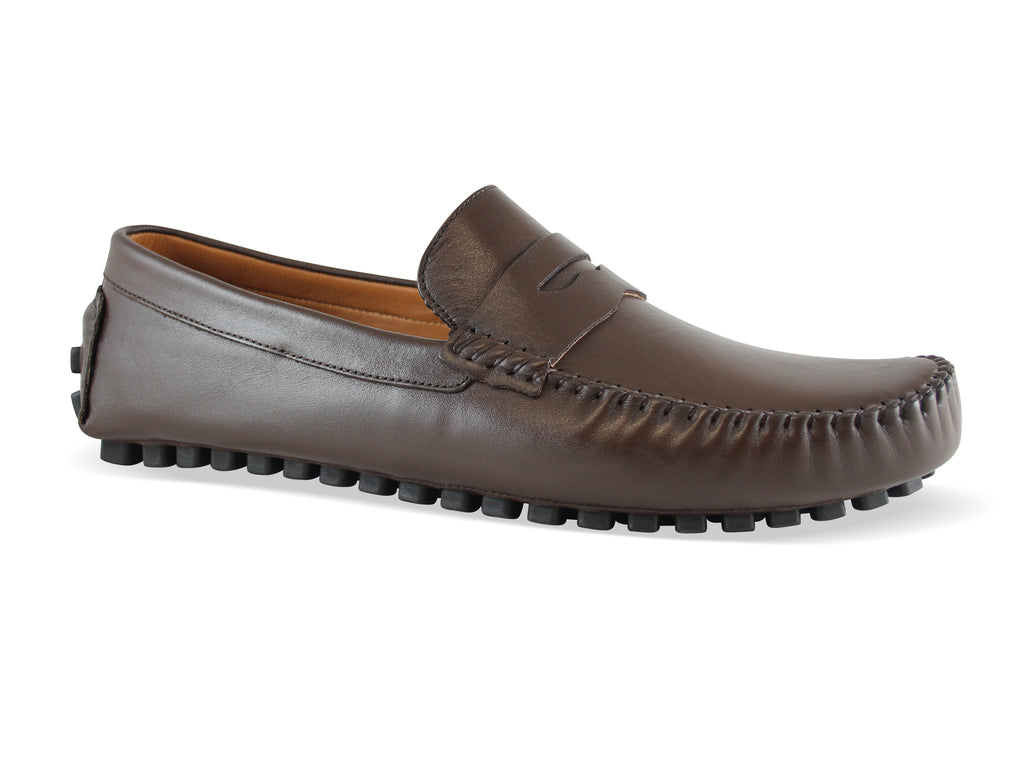 CORDOVA: Men's Handmade Leather Driving Shoes