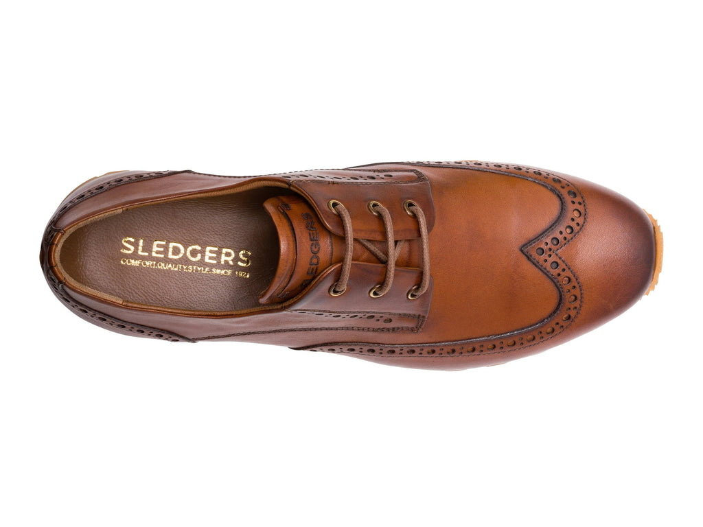 FLAGSTAFF: Men's Handmade Leather Shoes - Sledgers