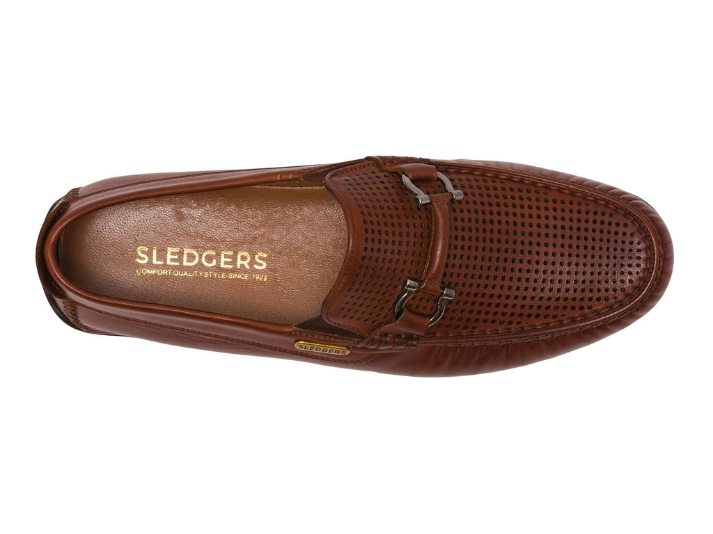 FONTANA: Men's Handmade Leather Driving Shoes - Sledgers