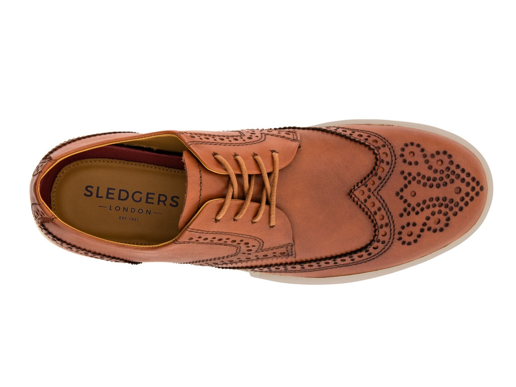 FRESNO: Men's Handmade Leather Shoes - Sledgers