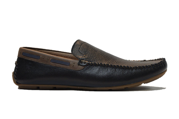 KIAN LEATHER LOAFERS - Sledgers