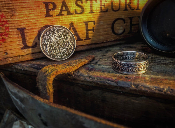 Alchemy Canadian Coin Rings