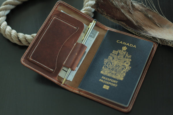 The Wrights Passport Wallet