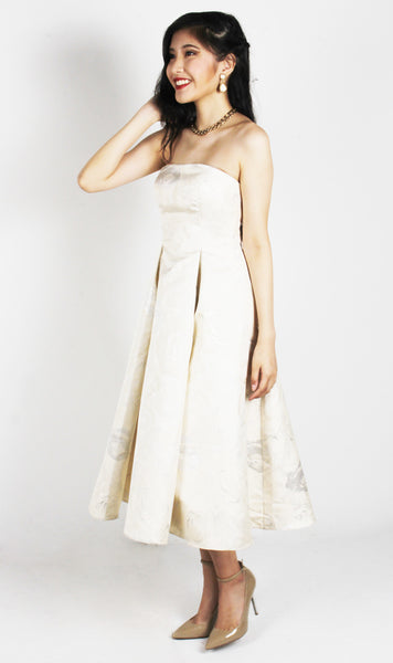 Unforgettable Impact Ivory Dress